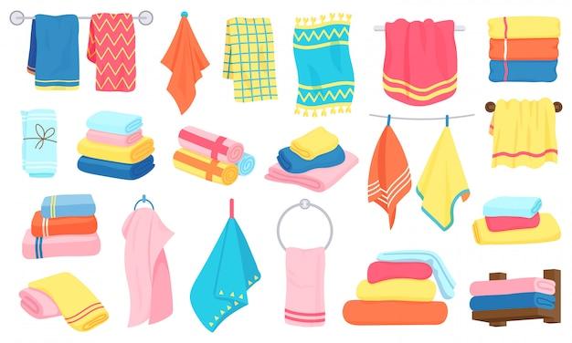 Toallas de tela de dibujos animados. toallas de baño ...