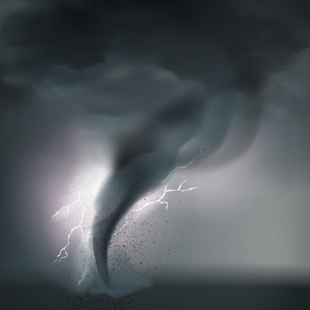 Tornado vector gratuito