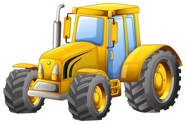 Tractor vector gratuito