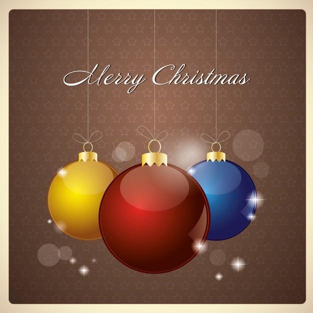 Tres bolas para decorar el rbol de navidad descargar - Bolas de navidad para decorar ...