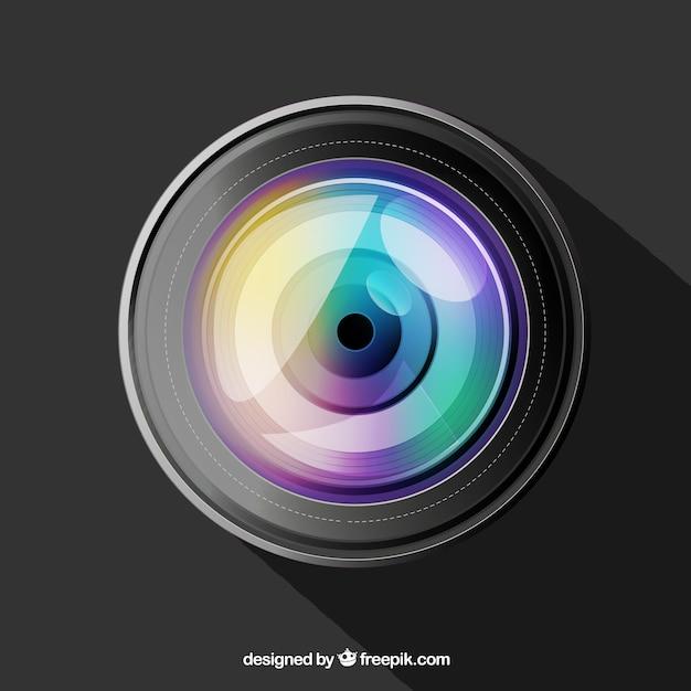 Ultra-realista lentes de las cámaras Vector Premium