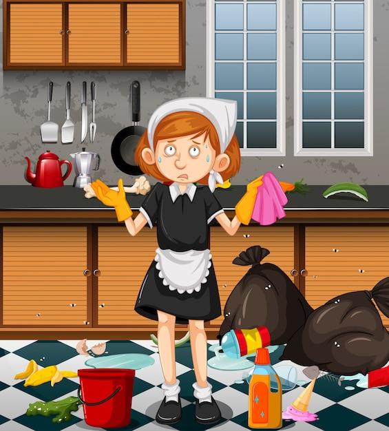 Limpiar cocina muy sucia top finest limpiar cocina muy sucia with limpiar cocina muy sucia with - Como limpiar una casa muy sucia ...