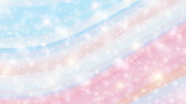 Unicorn marble galaxy print patrón sin fisuras en repetición. Vector Premium