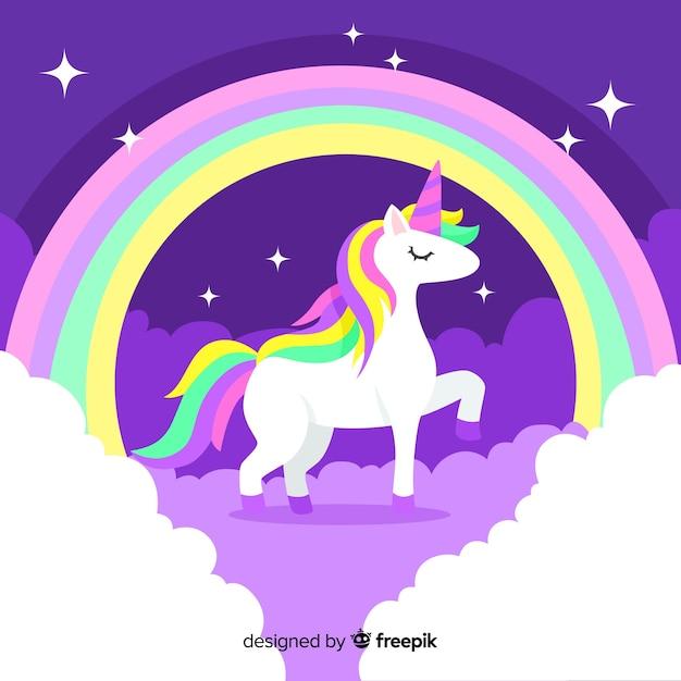 Unicornio vector gratuito
