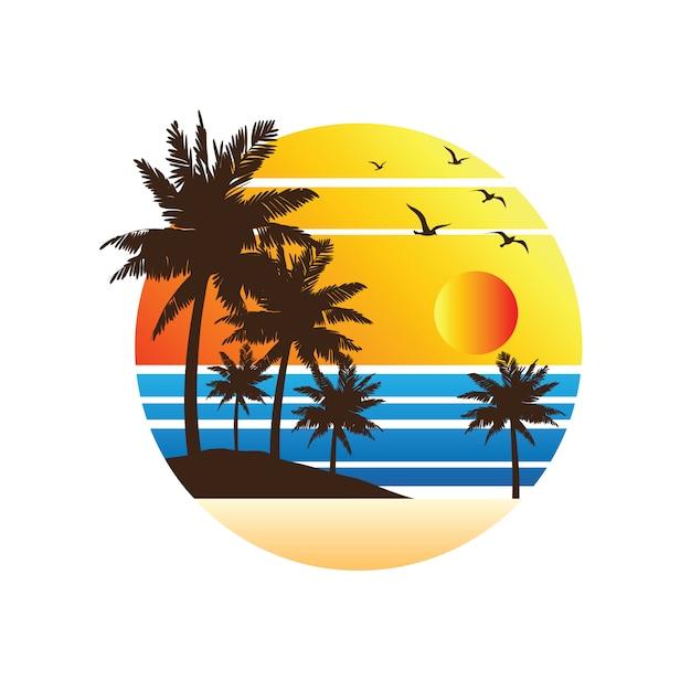 Vacaciones de verano Vector Premium