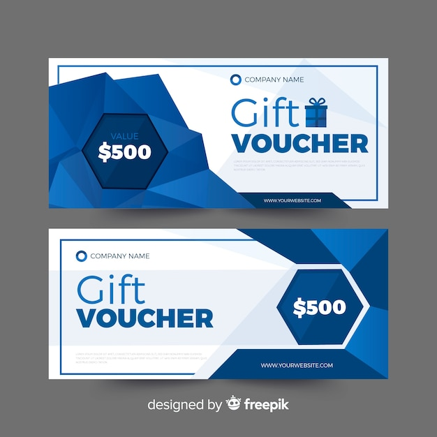Vale regalo vector gratuito