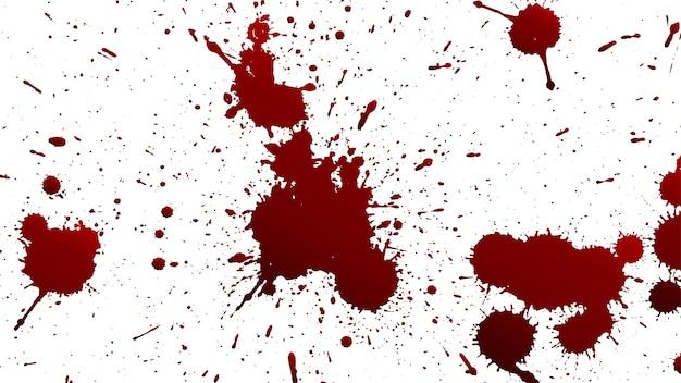 Varias salpicaduras de sangre o pintura | Descargar