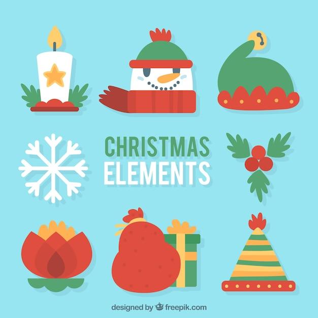 Varios objetos para la celebraci n de navidad descargar for Objetos de navidad