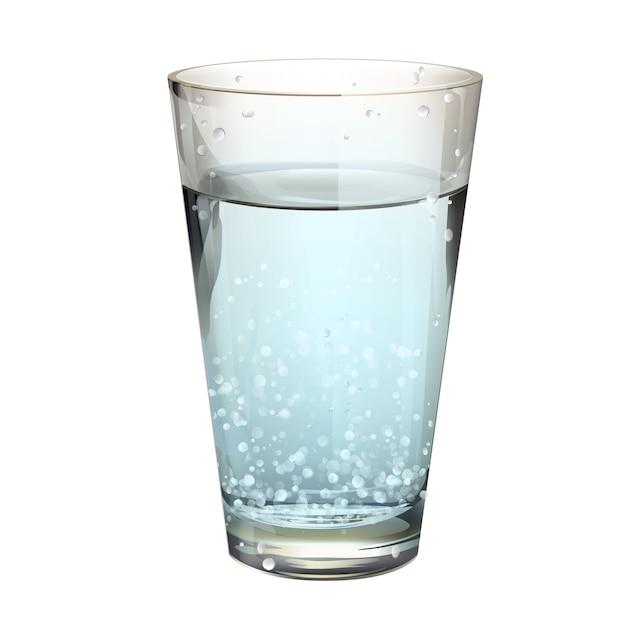 Vaso de agua con gas descargar vectores gratis - Vaso con agua ...