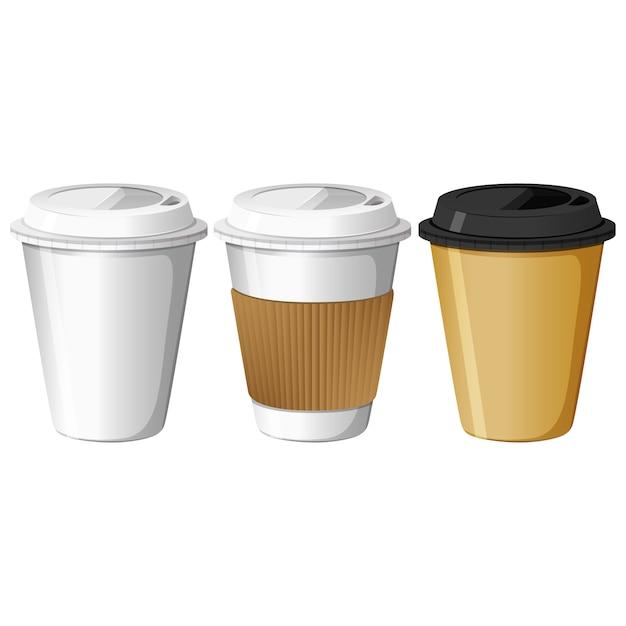 vasos de caf para llevar descargar vectores gratis ForCafe Para Llevar