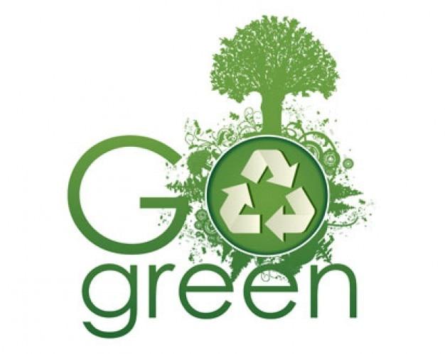 vaya concepto grunge verde Vector Gratis