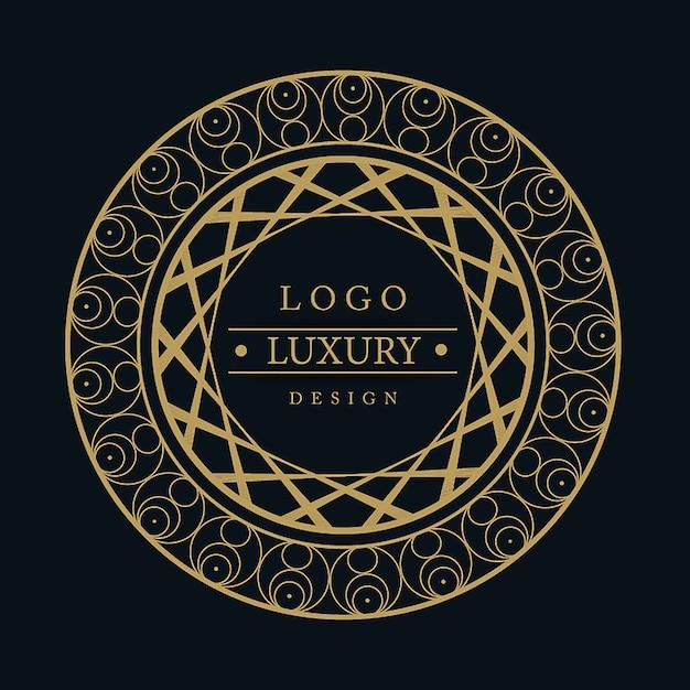 Vector amazing luxury logo designs vector gratuito