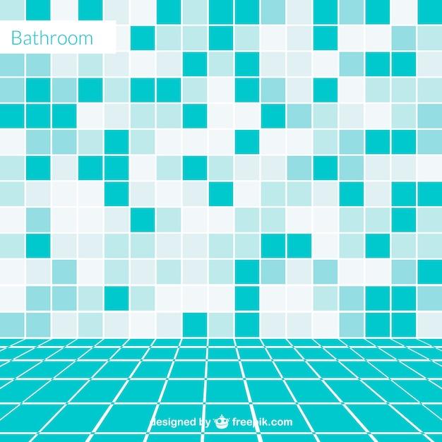 Vector cuarto de baño vacío vector gratuito