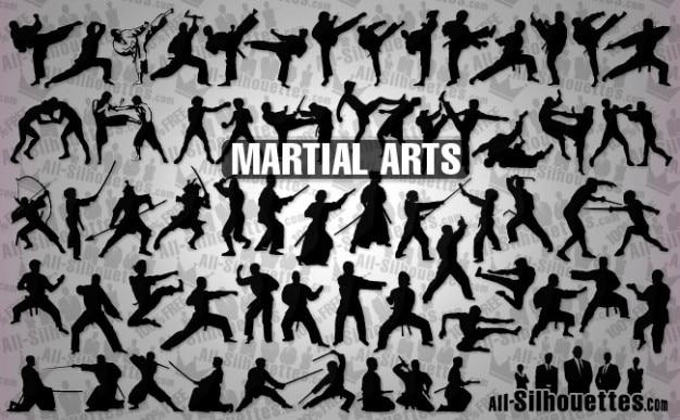 vector de artes marciales Vector Gratis