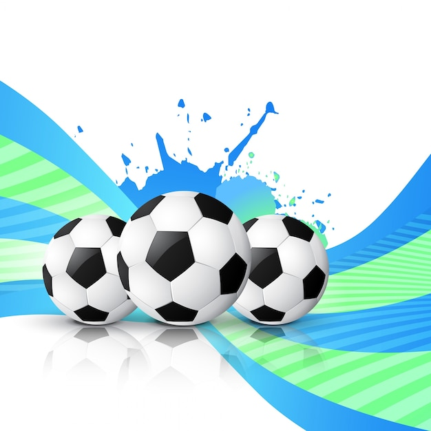 Vector de dise o de f tbol descargar vectores gratis for Fondos de futbol