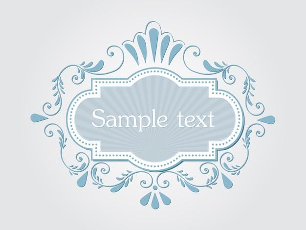 Top Vector de invitación, tarjetas o tarjeta de boda con elegantes  GS89