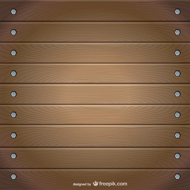 vector de la madera Vector Gratis