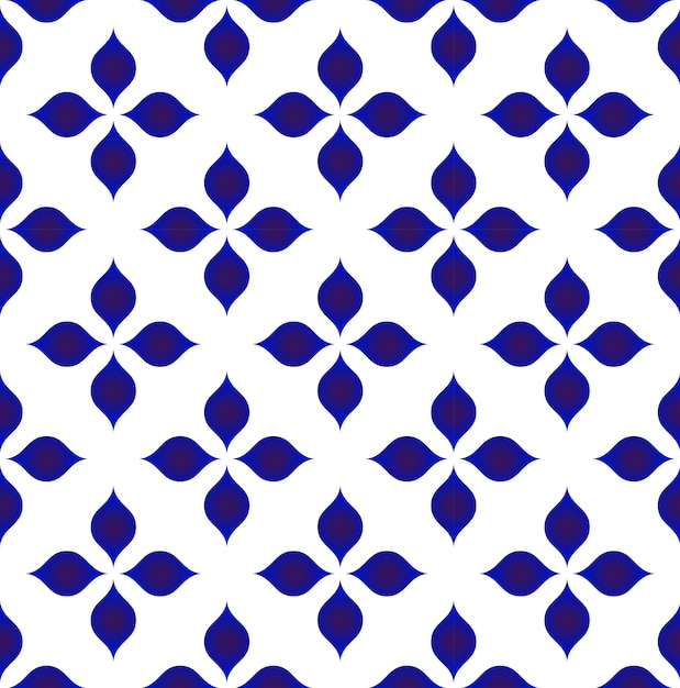 Vector de patrón de cerámica | Descargar Vectores Premium