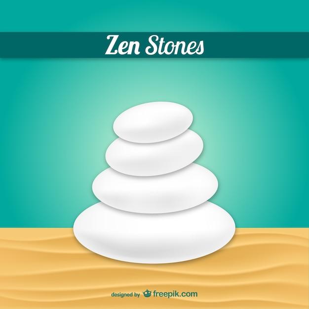vector de piedras zen vector gratis - Piedras Zen