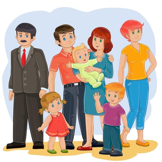 familia mamando