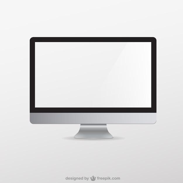Vector gratis de monitor Vector Premium