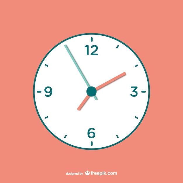 Vector gratuito de reloj Vector Premium