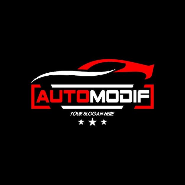 Vector logo autocar Vector Premium