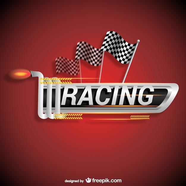 vector logo de carreras descargar vectores gratis