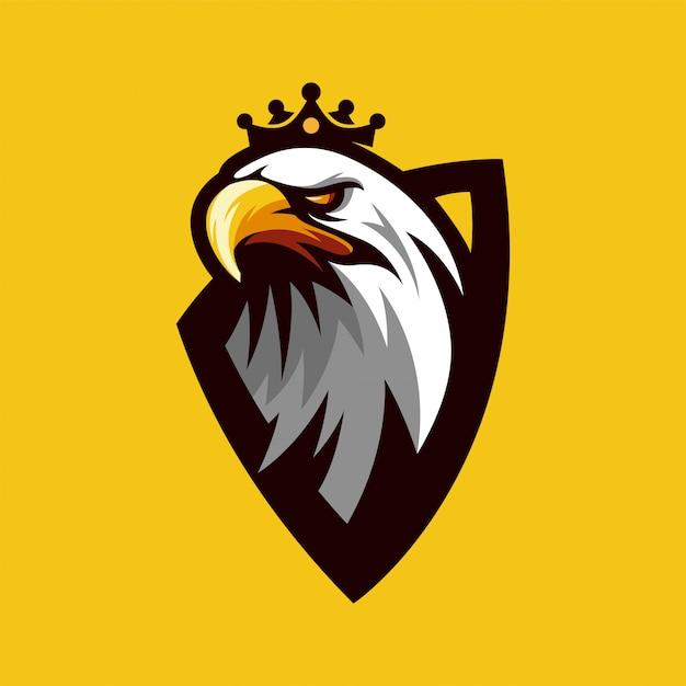 Vector logo de eagle Vector Premium