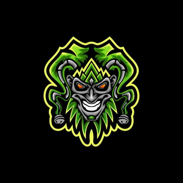 Vector logo de joker Vector Premium