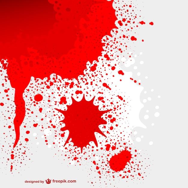 Vector mancha de sangre Vector Gratis