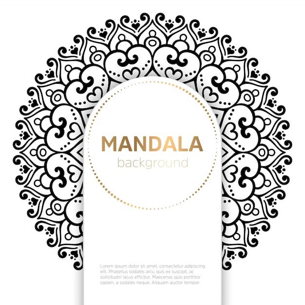 Vector mandala indio vector gratuito