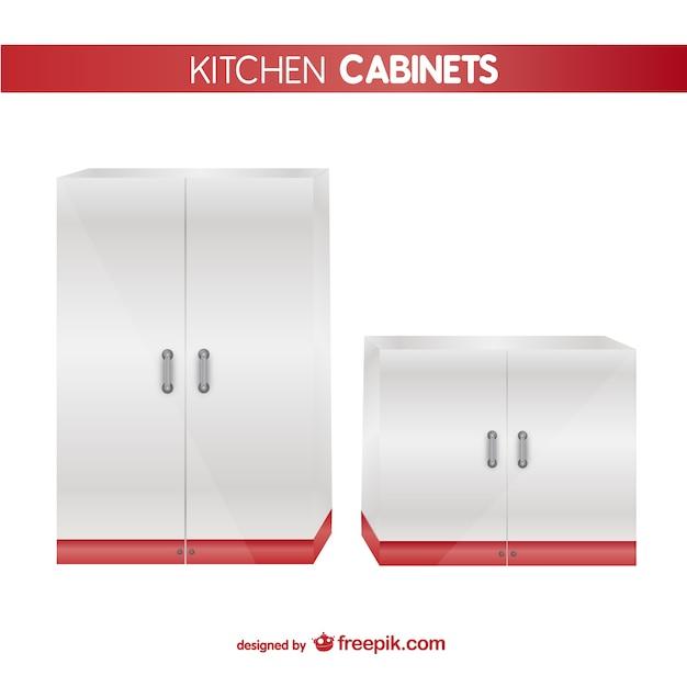 Vector muebles de cocina descargar vectores gratis for Muebles de cocina gratis