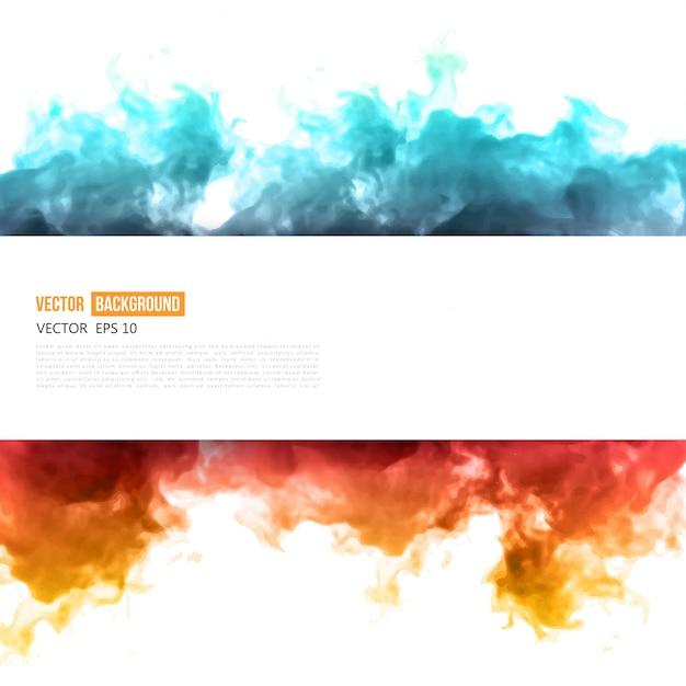 Vector nube azul. vector gratuito