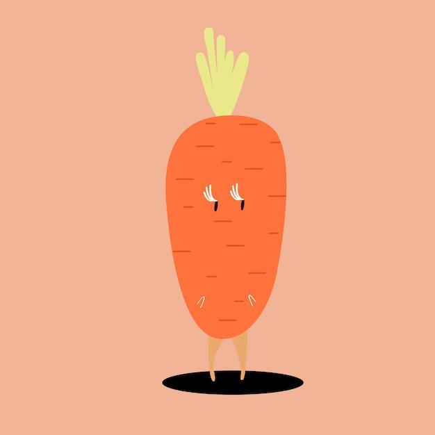 Vector De Personaje De Dibujos Animados De Zanahoria Organica Vector Gratis Want to discover art related to vectorizada? vector de personaje de dibujos animados de zanahoria organica vector gratis