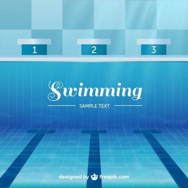 Vector piscina ol mpica descargar vectores gratis for Software diseno piscinas