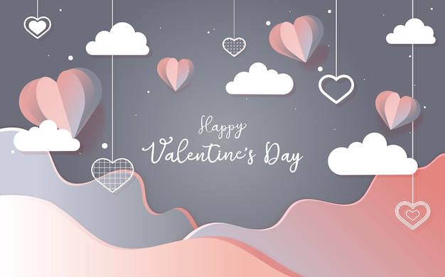 Vector de san valentín 14 de febrero vector gratuito