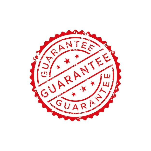 Vector de sello de garantia Vector Premium