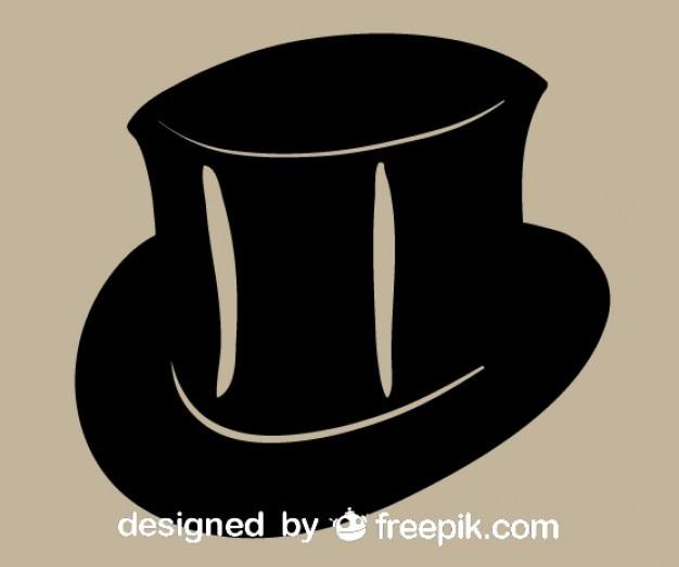 Vector de sombrero negra elegante  767b4feb0a8