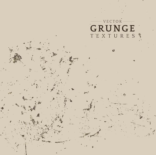 Vector de textura apenada grunge beige vector gratuito