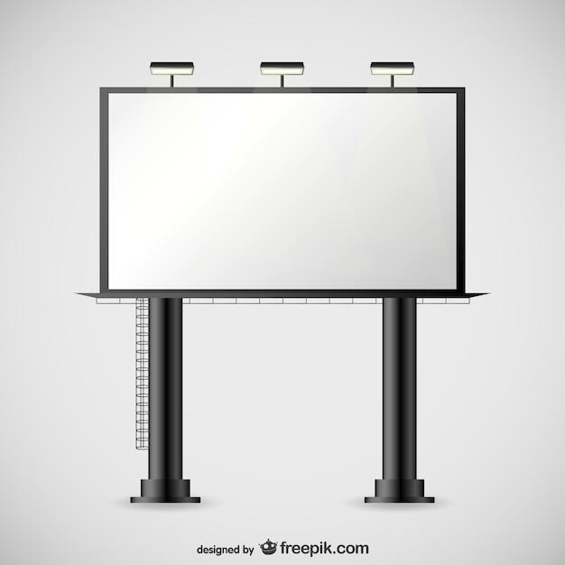 Vector valla publicitaria grande descargar vectores gratis for Imagen de vallas