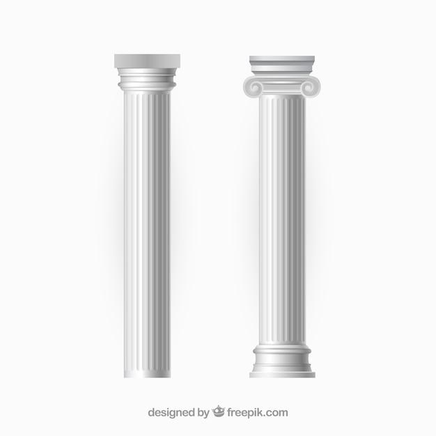 Vectores columna vector gratuito