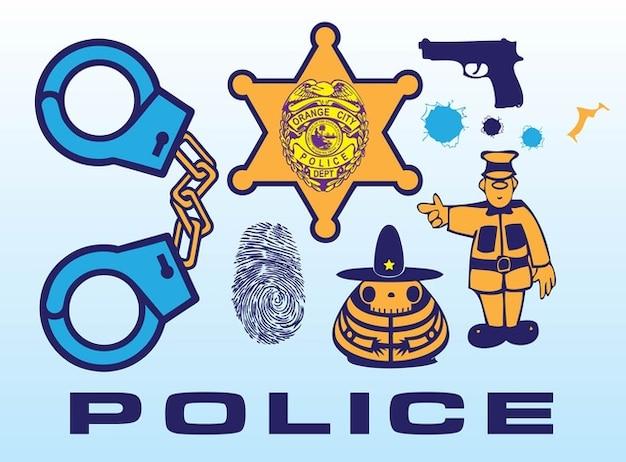 Vectores De La Policía