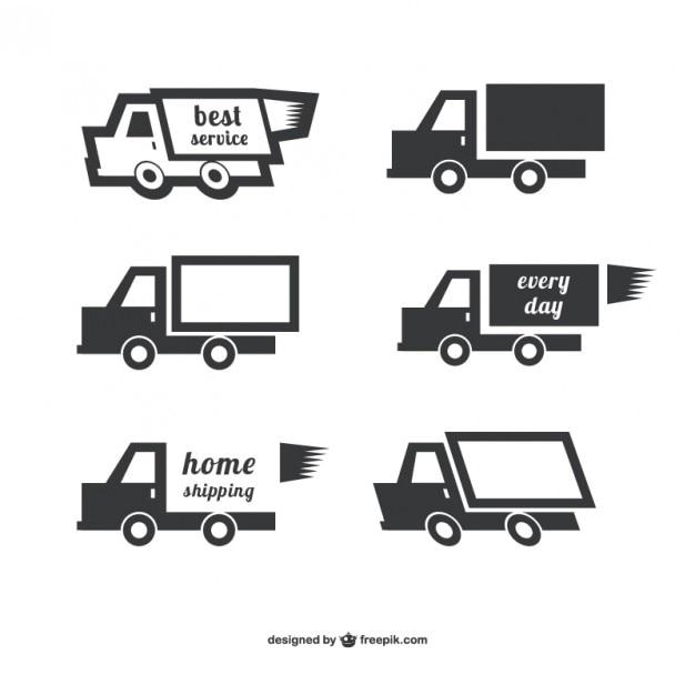 Vectores de envío a domicilio vector gratuito