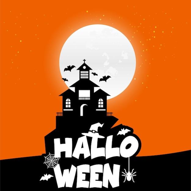 Vectores de fondo de halloween vector gratuito