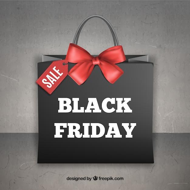 Las ventas del viernes negro vector gratuito