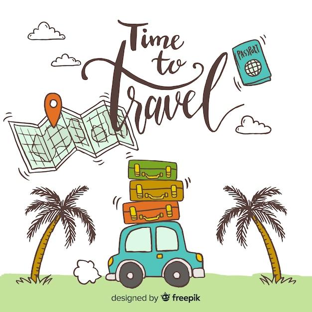 Viajar vector gratuito