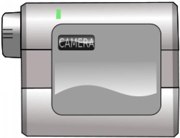videocámara Vector Gratis