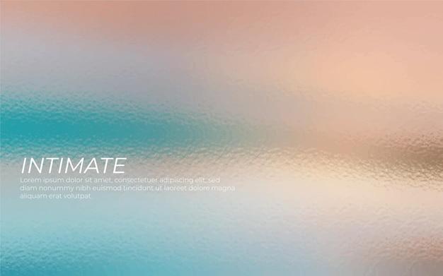 Vidrio iridiscente de colores de fondo vector gratuito