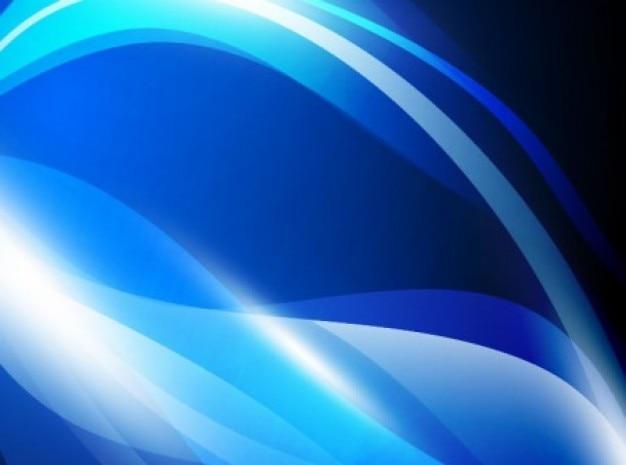 Vigas De Color Azul Cielo De Fondo Negro En Forma De Ola